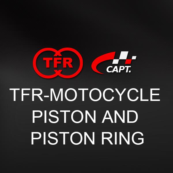 TFR-MOTOCYCLE PISTON AND PISTON RING